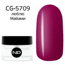 nano professional Gel - Гель классический цветной CG-5709 люблю Майами 5мл