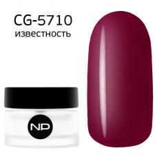 nano professional Gel - Гель классический цветной CG-5710 известность 5мл