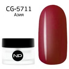 nano professional Gel - Гель классический цветной CG-5711 Азия 5мл