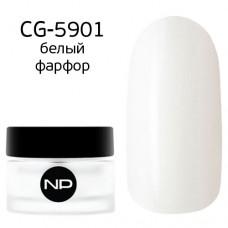 nano professional Gel - Гель классический цветной CG-5901 белый фарфор 5мл