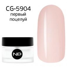 nano professional Gel - Гель классический цветной CG-5904 первый поцелуй 5мл