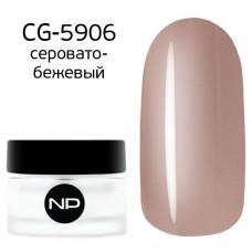 nano professional Gel - Гель классический цветной CG-5906 серовато-бежевый 5мл