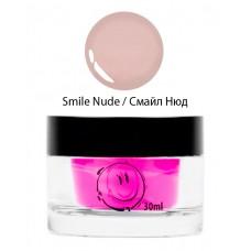 nano professional Gel - Гель однофазный камуфлирующий Smile Nude Gel 30мл