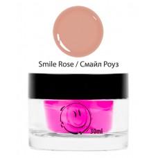 nano professional Gel - Гель однофазный камуфлирующий Smile Rose Gel 30мл