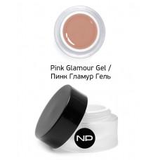 nano professional Gel - Гель скульптурный камуфлирующий Pink Glamour Gel 30мл