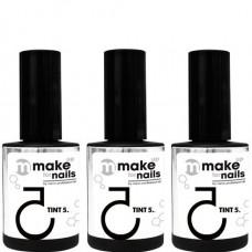 nano professional make up for nails - Набор гелей WINTER SET 15 + 15 + 15мл