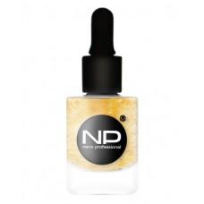 nano professional Nail Polish Gold Gel - Активный гель для укрепления и роста ногтей 15мл