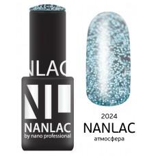 nano professional NANLAC - Гель-лак Эффекты NL 2024 атмосфера 6мл
