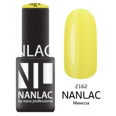 nano professional NANLAC - Гель-лак Эмаль NL 2162 Мимоза 6мл