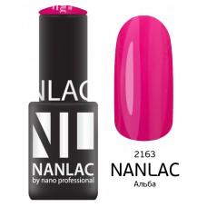 nano professional NANLAC - Гель-лак Эмаль NL 2163 Альба 6мл