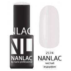 nano professional NANLAC - Гель-лак Эмаль NL 2174 чистый эндорфин 6мл