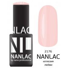 nano professional NANLAC - Гель-лак Эмаль NL 2176 иллюзия любви 6мл