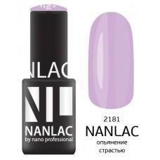 nano professional NANLAC - Гель-лак Эмаль NL 2181 опьянение страстью 6мл
