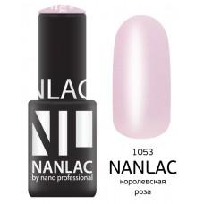 nano professional NANLAC - Гель-лак камуфлирующий NL 1053 королевская роза 6мл