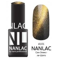 nano professional NANLAC - Гель-лак кошачий взгляд NL 4101 Сен-Эликс-ле-Шато 6мл