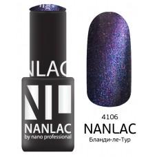 nano professional NANLAC - Гель-лак кошачий взгляд NL 4106 Бланди-ле-Тур 6мл
