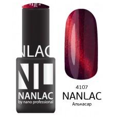 nano professional NANLAC - Гель-лак кошачий взгляд NL 4107 Алькасар 6мл