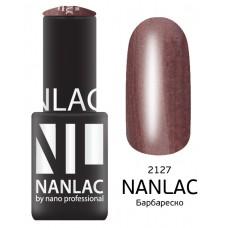 nano professional NANLAC - Гель-лак Мерцающая эмаль NL 2127 Барбареско 6мл