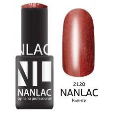 nano professional NANLAC - Гель-лак Мерцающая эмаль NL 2128 Кьянти 6мл