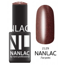 nano professional NANLAC - Гель-лак Мерцающая эмаль NL 2129 Лагрейн 6мл