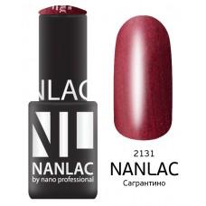 nano professional NANLAC - Гель-лак Мерцающая эмаль NL 2131 Сагрантино 6мл