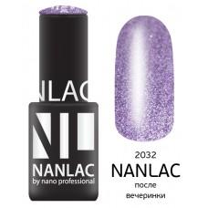 nano professional NANLAC - Гель-лак Металлик NL 2032 после вечеринки 6мл