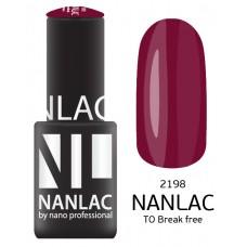 nano professional NANLAC - Гель-лак NL 2198 TO Break free 15мл