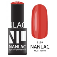 nano professional NANLAC - Гель-лак NL 2199 MUST go on 15мл