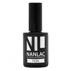 nano professional NANLAC - Гель-лак защитный FLEX 15мл