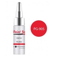 nano professional Paint Gel - Гель-краска PG-905 Цветы 7мл