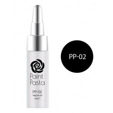 nano professional Paint Pasta - Гель-паста PP-02 чёрный аист 7мл