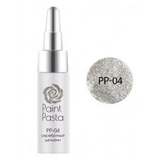 nano professional Paint Pasta - Гель-паста PP-04 серебряный дельфин 7мл