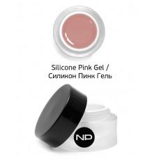 nano professional Silicone Pink Gel - Гель укрепляющий камуфлирующий 30мл