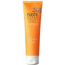 Nashi ARGAN Sun Care Cream SPF30 - Солнцезащитный крем для лица и тела SPF30, 150мл