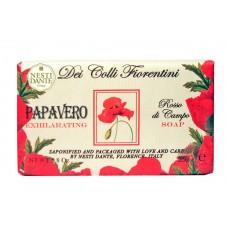 NESTI DANTE DEI COLLI FLORENTINI Exhilarating Poppy - Мыло Бодрящий Мак (увлажнение и питание) 250мл