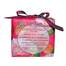 NESTI DANTE GLI OFFICINALI Camellia & Cinnamon - Мыло Камелия и Корица (успокаивает и балансирует) 200мл