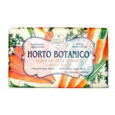 NESTI DANTE HORTO BOTANICO Carrot - Мыло Морковь (тонизирует и омолаживает) 250гр