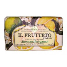 NESTI DANTE IL FRUTTETO Citron & Bergamot - Мыло Лимон и Бергамот 250мл
