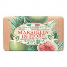 NESTI DANTE MARSIGLIA IN FIORE Aloe Vera - Мыло для лица и тела Инжир и Алоэ 125гр