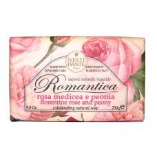 NESTI DANTE ROMANTICA Florentine Rose & Peony - Мыло Флорентийская Роза и Пион 250мл