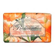 NESTI DANTE ROMANTICA Noble Cherry Blossom & Basil - Мыло Вишневый Цвет и Базилик 250мл
