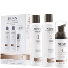 Nioxin Starter Kit System 4 - Ниоксин набор (Система 4) 150 мл+150 мл+40 мл