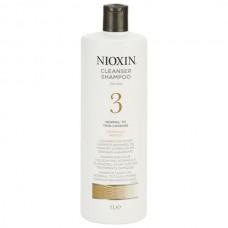 Nioxin Cleanser System 3 - Ниоксин очищающий шампунь (Система 3) 1000 мл