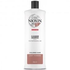 NIOXIN System 3 Cleanser - Ниоксин Очищающий Шампунь (Система 3), 1000мл