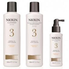 Nioxin System 3 Kit XXL - Ниоксин Набор (Система 3) 300 + 300 + 100мл