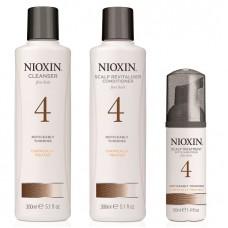 Nioxin System 4 Starter Kit XXL - Ниоксин Набор (Система 4) 300 + 300 + 100мл