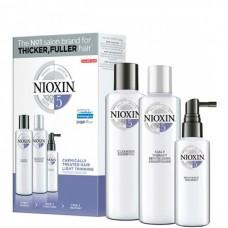 NIOXIN System 5 Kit - Ниоксин Набор (Система 5), 150 + 150 + 50мл