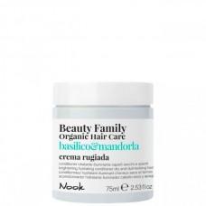 Nook Beauty Family Basilico & Mandorla Crema Rugiada - Крем-кондиционер для сухих и тусклых волос 75мл