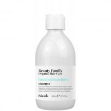 Nook Beauty Family Basilico & Mandorla Shampoo - Шампунь для сухих и тусклых волос 300мл