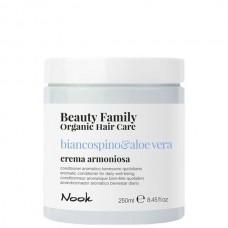 Nook Beauty Family Biancospino & Aloe Vera Crema Armoniosa - Крем-кондиционер для ежедневного ухода 250мл